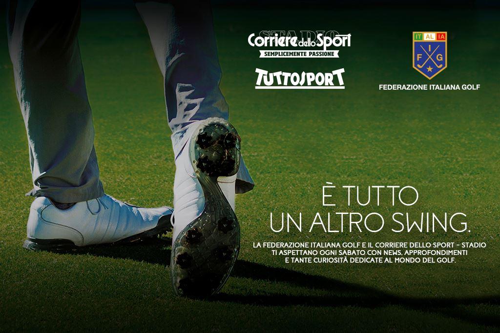 Promozione del golf Corriere dello Sport e Tuttosport