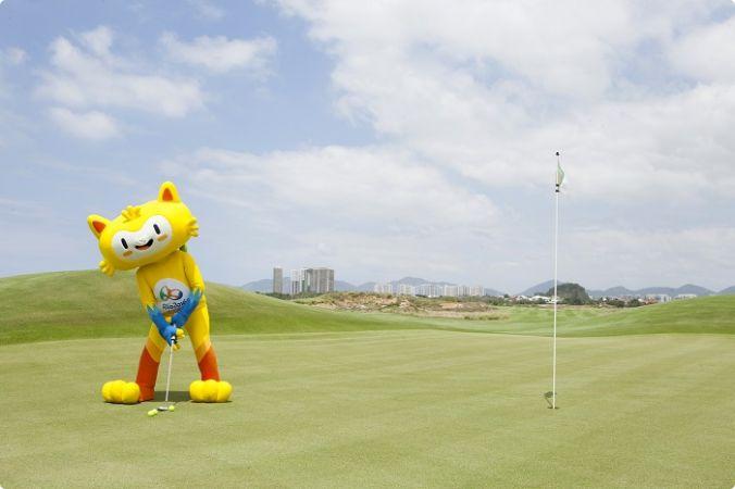 mascotte Rio 2016 golf