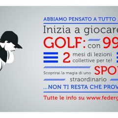 Promozione golf a 99 euro