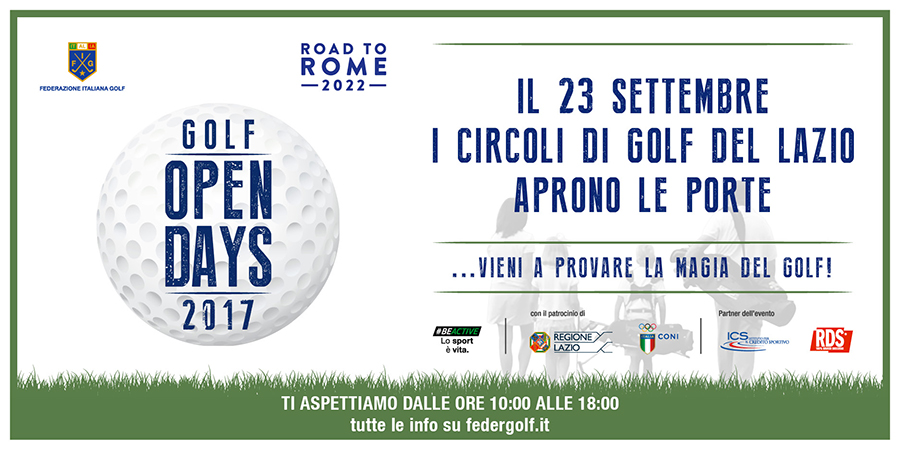 GOLF OPEN DAYS 2017