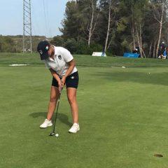 Angelica Moresco in campo pratica