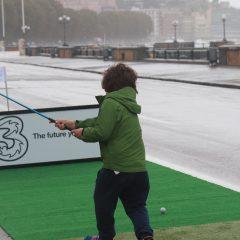 Golf in Piazza Lungomare Caracciolo Napoli