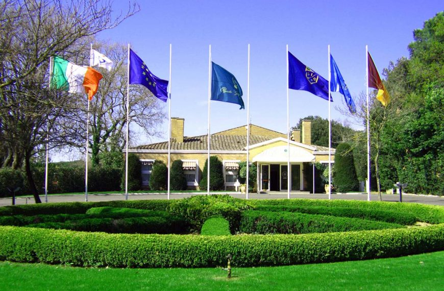 Olgiata GC la club house