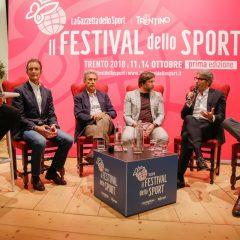 Sport e Sostenibilità, i relatori (Foto Festival dello Sport)
