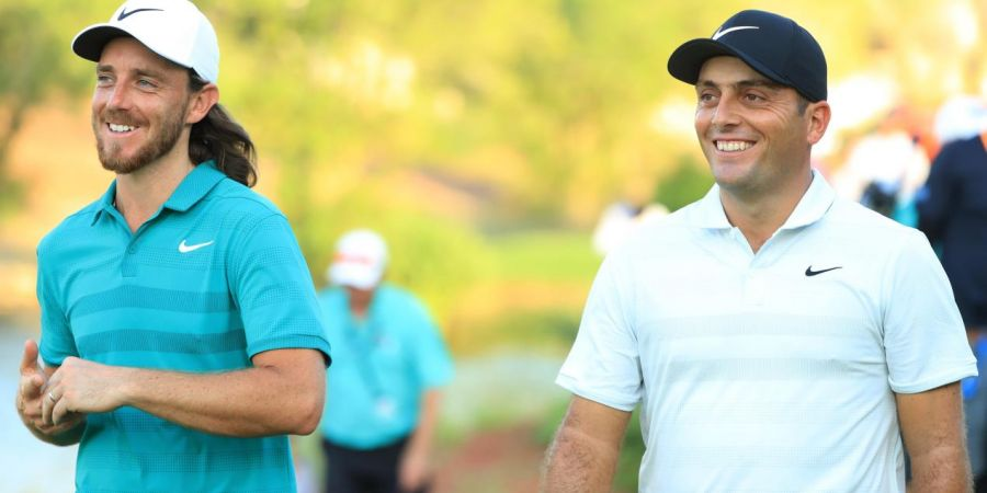 Tommy Fleetwood e Francesco Molinari GI