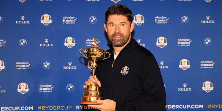 Harrington Padraig con la Ryder Cup