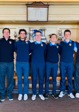 Azzurri al Quadrangolare 2019